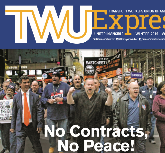 TWU Express Winter 2019